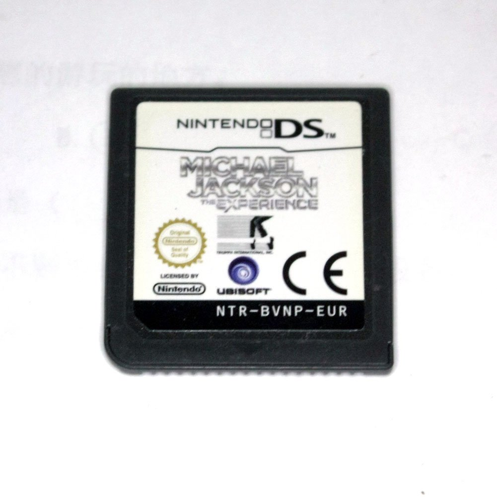MICHAEL JACKSON The Experience (Nintendo DS NDS Game) EURO Version