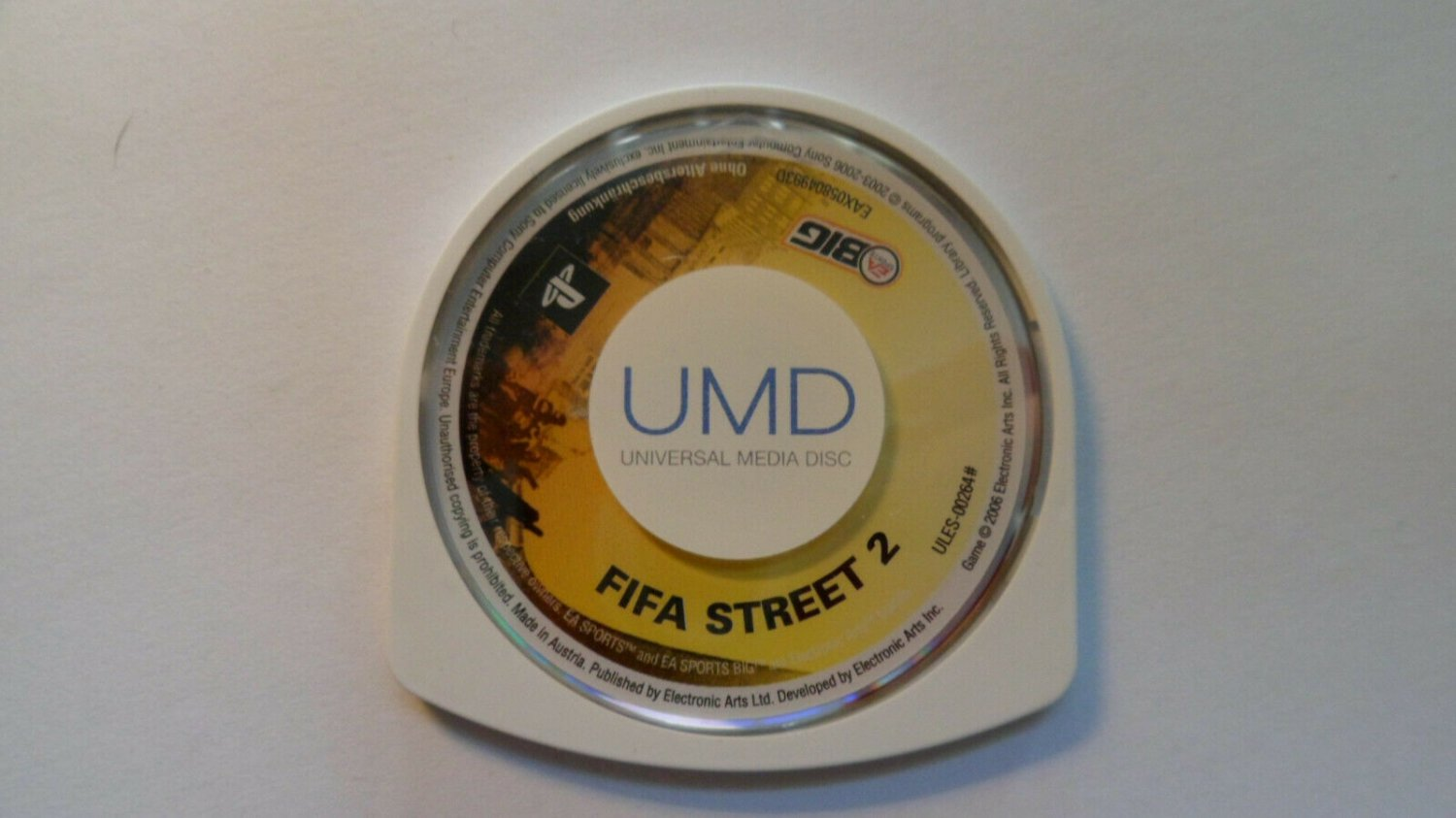 Fifa Street 2 PSP Game game only
