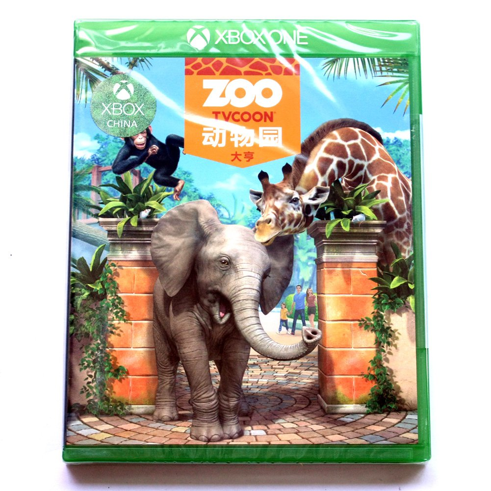 Brand New Sealed Super Zoo Tycoon Game(Microsoft XBOX ONE, 2013) Chinese Versione China