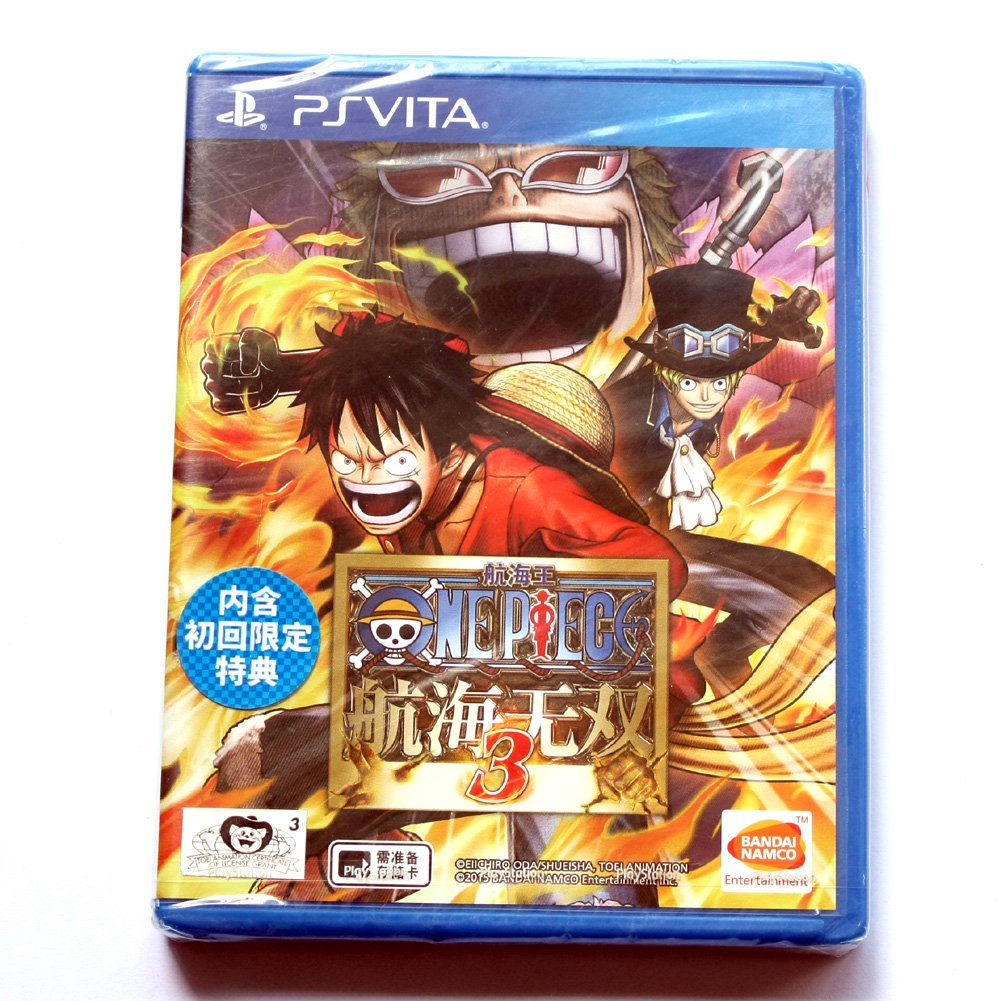 New Sealed OnePiece:PirateWarriors 3 Game(SONY PlayStation PS Vita PSV) Chinese Versione