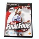 Sony Playstation 2 PS2 GAME NCAA Final Four 2002 NTSC U/C