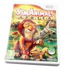 Sim Animals: Africa PAL 3 Game( Nintendo Wii,2009 )
