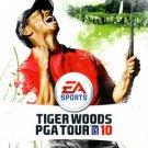 tiger woods pga tour 10 Nintendo Wii Game
