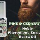 Premium Beard Oil with Androstenonum, Pheromone, Beard Recovery, Grooming PheroCode with pump 30ml