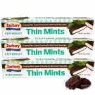 4 Boxes ZACHARY PEPPERMINT THIN MINTS 5.5oz ....*~ FAST FREE USA SHIPPING ! ~*....