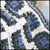 Cornflowers Afghan