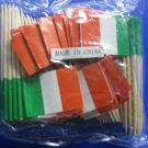 144 of Italian Flag toothpicks for Party picks - cake & food decoration ITALY