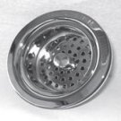Trim To The Trade 4T-231-15 Post Style Basket Strainer for Kitchen Sink - Gloss Black