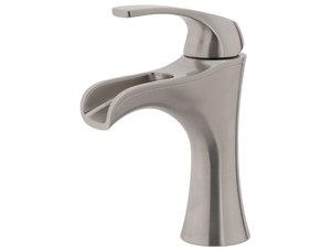 Price Pfister Jaida LF-042-JDKK Centerset Single Handle Waterfall Lavatory faucet - Brushed Nickel