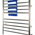 Amba RWH-SB Radiant Hardwired Straight Bathroom Towel Warmer - Brushed Stainless