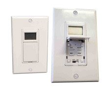 Honeywell PLS730B1003 Hardwired Programmable Timer Switch - White - 7 Days/24 Hour