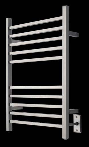 Amba RSWH-P Hardwired Radiant Square Towel Warmer - Polished Stainless