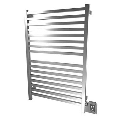 "Amba Quadro Q-2842-B 28"" W x 42"" H Towel Warmer and Space Heater - Brushed Stainless"