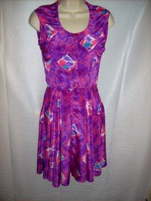 Purple Floral Dress