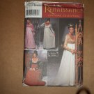 Simplicity Renaissance Dress Costume Pattern 9531  Size 6 8 10 12  Uncut