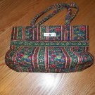 Isabella's Journey Quilted Monaco Floral Purse Bag EUC