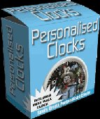 """Personalized Clocks-- """"Create Personalized Clocks of all sizes"""""""