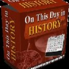"""On This Day in History-- """"Personalized Special Date Prints"""""""