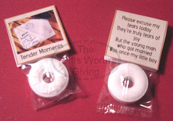 Mother of the Groom Mint Toppers Party Favors