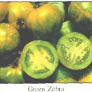 Green Zebra tomato seeds, small bi-color