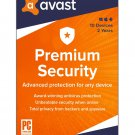 Avast Premium Security 10 Devices 3 Year Global Instant delivery Download