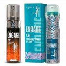 Engage M1 Perfume Spray For Men, 120ml And Engage G1 Cologne Spray For Women,
