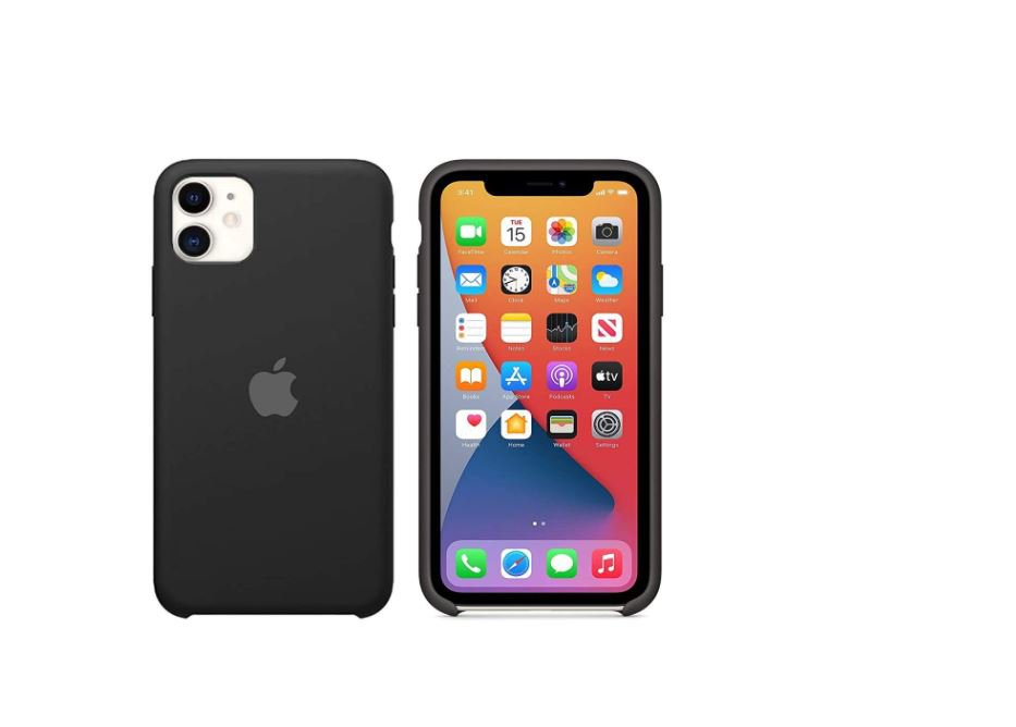 Back Case for iPhone 11 (Soft   Silicon   Black)