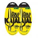 Maybelline New York Colossal Kajal, Black, 0.35g (Pack Of 2) ( R10)