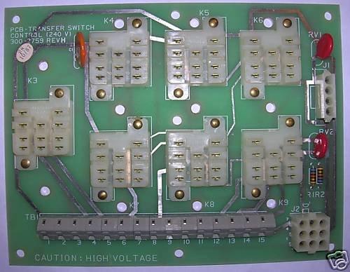 Onan Transfer Switch (LT) Control 300-2759 (300-2955)