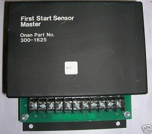 Onan First Start Sensor Master 300-1625 30SK
