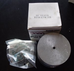 Onan 112-0170 ( 112-0170-30? ) CCK Piston and Pin .030 over  NEW