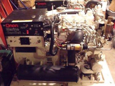 Onan MDKWB 9KW Marine Diesel Generator
