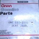 Onan 110-1000-25 Insert / Seat .025, CCK, LK  NEW
