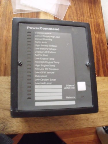 Onan 300-5637-02 (541-0814-02) Annunciator for FT-10 Networks