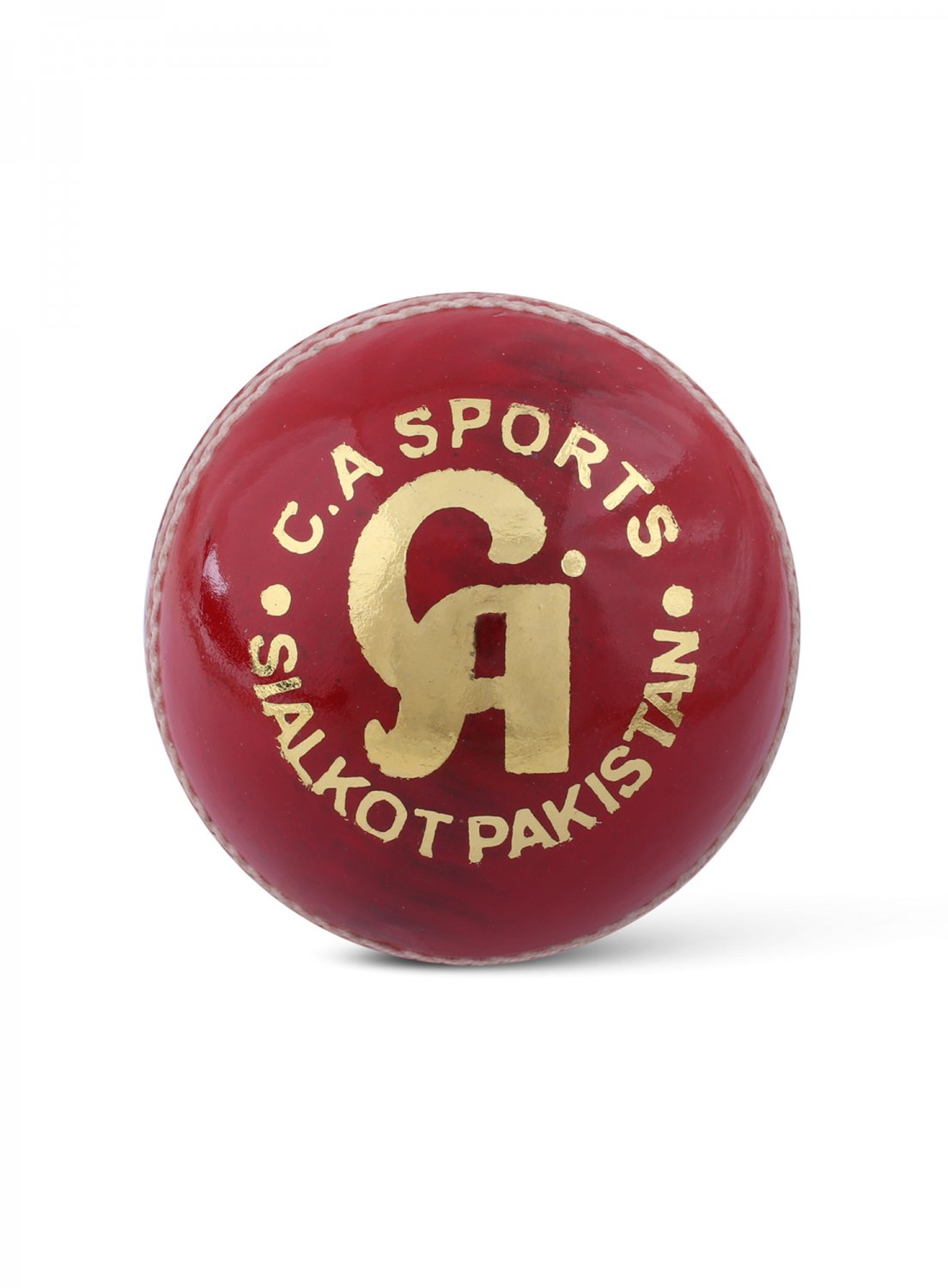 CA Leather Cricket Hard Ball Cricket Ball SUPER TEST RED pack of 6 Hard Ball