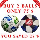 Sale Buy 2 ADIDAS NATIVO XXV MLS & MLS- NATIVO QUESTRA 2019 SOCCER MATCH BALL 5
