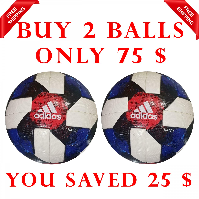 Sale Buy 2 ADIDAS MLS- NATIVO QUESTRA 2019 SOCCER MATCH BALL 5