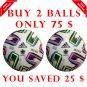 Sale Buy 2 ADIDAS UNIFORIA FIFA SOCCER MATCH BALL 5