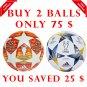 Sale Buy 2 Adidas Final Madrid 2019 & Finale Kyiv 2018 UEFA Champions League SOCCER MATCH BALL 5