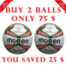 Sale Buy 2 Molten Match Ball ⚽Soccer Football Size 5, Thermal Bonded