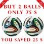 Sale Buy 2 ADIDAS BRAZUCA FOOTBALL WORLD CUP 2014 SOCCER MATCH BALL 5