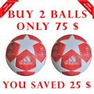 ADIDAS UEFA CHAMPIONS LEAGUE 2018-19 SOCCER MATCH BALL RED COLOUR SIZE 5 Promo Pack