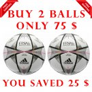 Sale Buy 2 ADIDAS FINAL MILANO 2016 SOCCER MATCH BALL SIZE 5