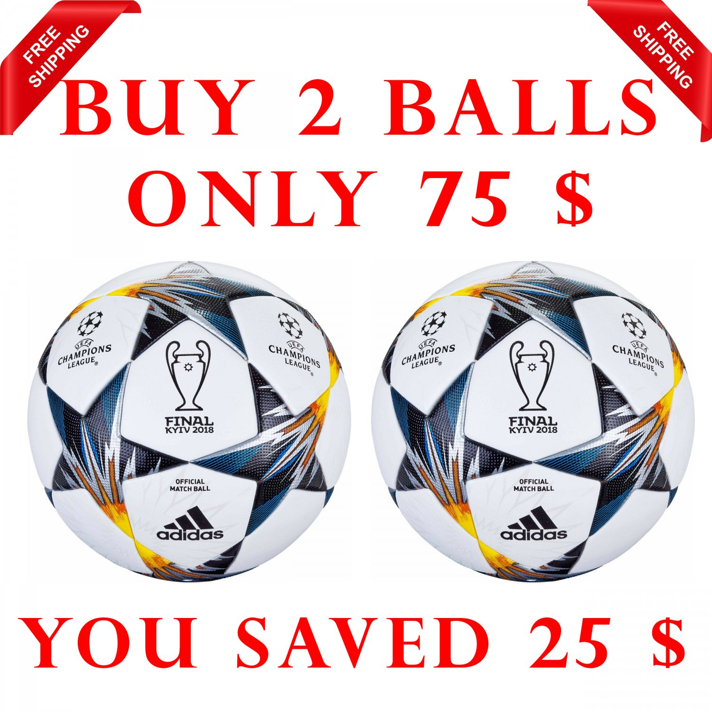 Sale Buy 2 Adidas UEFA Champions League Finale Kyiv SOCCER MATCH BALL 5