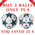 Sale Buy 2 Adidas UEFA CHAMPIONS LEAGUE FINALE CARDIFF 2017 & Finale Kyiv 2018 SOCCER MATCH BALL 5