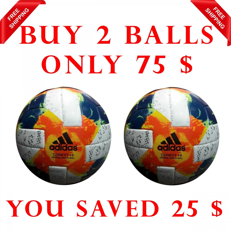 Sale Buy 2 Adidas Conext 19 Women's World Cup SOCCER MATCH BALL 5