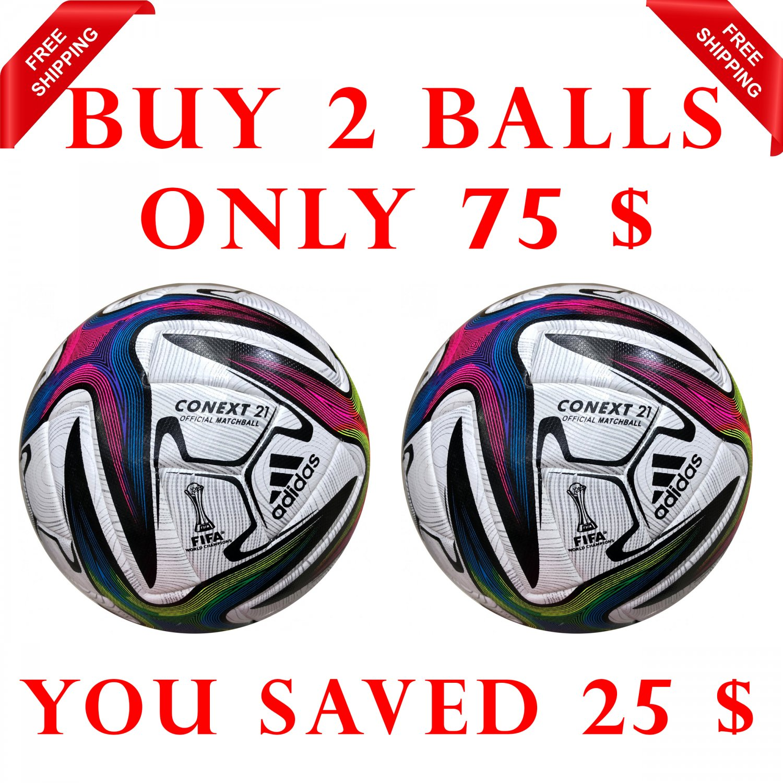 Sale Buy 2 Adidas Conext 21 Women's World Cup SOCCER MATCH BALL 5