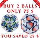 Sale Buy 2 Adidas Champions League Final Authentic 2019-20 & finale 2020-21 SOCCER MATCH BALL 5