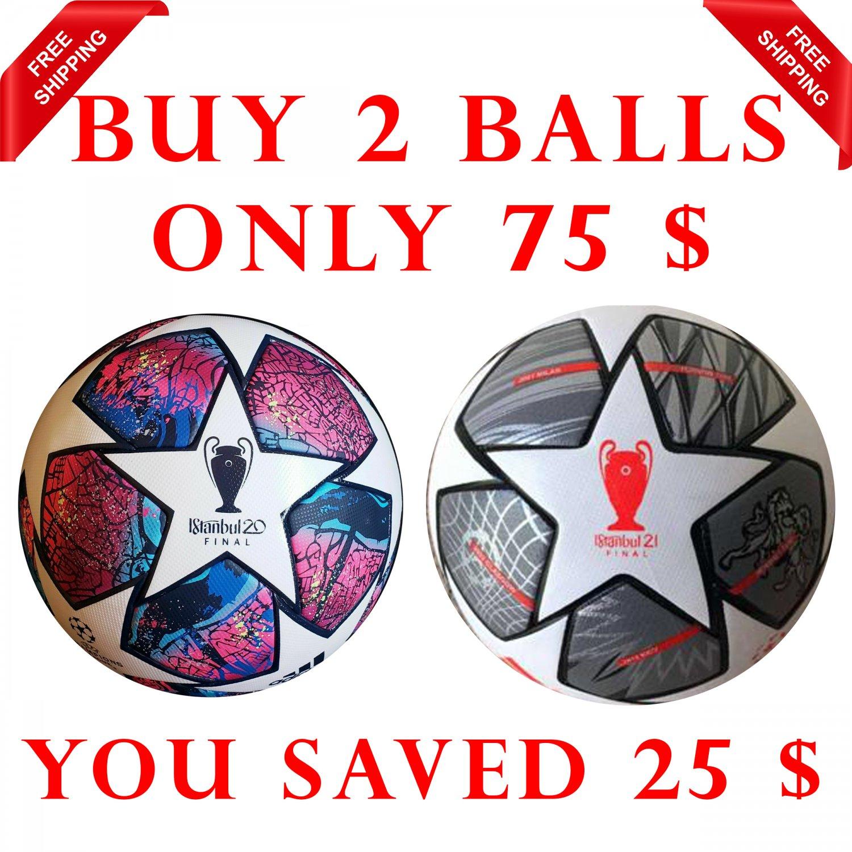 Sale Buy 2 Adidas Soccer Final Istanbul 20 & 21 UEFA Champions League SOCCER Match FootBall Size 5