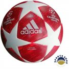 ADIDAS UEFA CHAMPIONS LEAGUE 2018-19 SOCCER MATCH BALL RED COLOUR SIZE 5